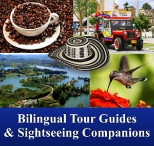 Turismo Colombia - Tourism Colombia - Guías y Escoltas Bilingües - Guides and Bilingual Escorts