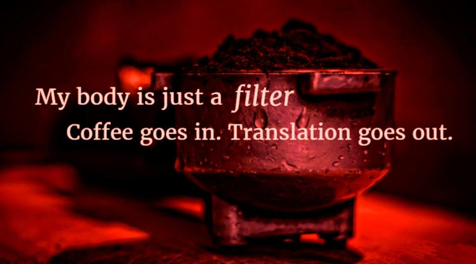 body is coffee filter