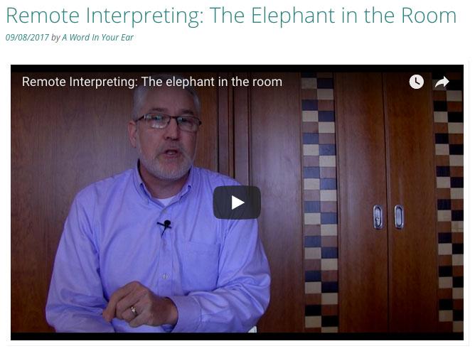 remote interpreting