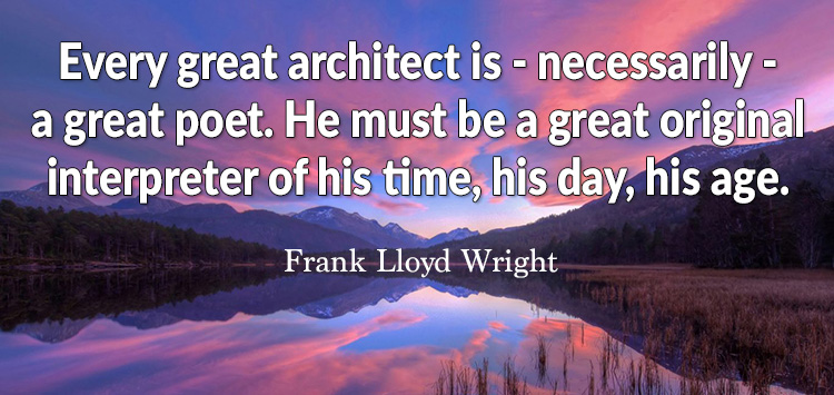 great architect is interpreter
