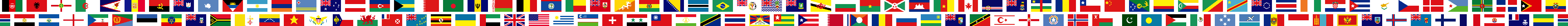 International scrolling flags banner