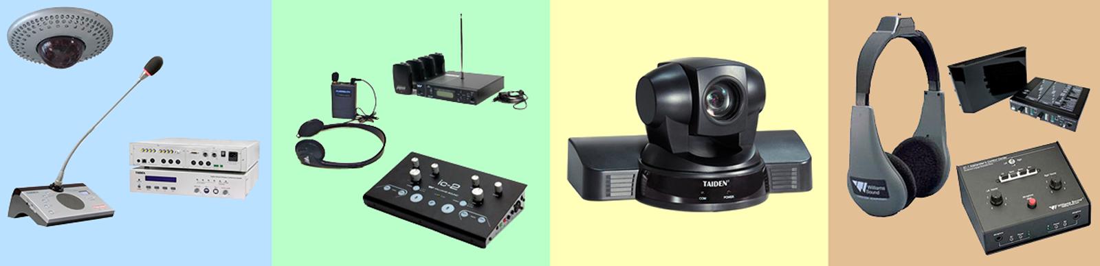 Equipment portable equipo interpreters Pastels